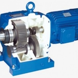 Reducers are cylindrical, conic - cylindrical and worm, motor gearboxes